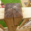 Cracked Decking Post
