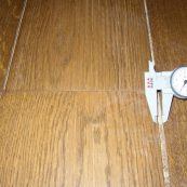 Flooring Shrinkage over Underfloor Heating